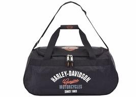 Harley Davidson Tail of the Dragon Logo Sport Duffel Travel Gym Bag NEW - $55.25