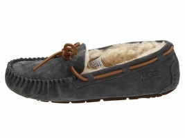 UGG Dakota Pewter Women's Moccasin Slippers 5612 NEW - $90.00