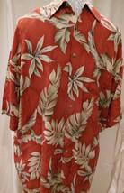 Vintage Campia Moda Hawaiian Style Red & White Shirt Men's XL 100% Rayon... - $11.87