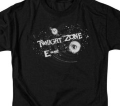 The Twilight Zone E=mc t-shirt retro 50's 60's sci-fi TV graphic tee CBS106 image 2