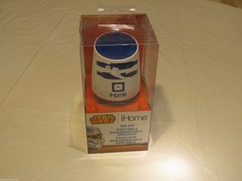 Star Wars Ihome R2 D2 RARE wireless rechargeable speaker bluetooth I home NEW - $34.64