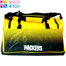 GREEN BAY PACKERS AMERICAN FOOTBALL NFL TEAM HOLDALL BAG SPORT GYM OFFIC... - $32.66