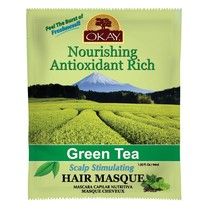 Okay Nourishing Antioxidant Rich Green Tea Scalp Stimulating Hair Masque... - $5.89