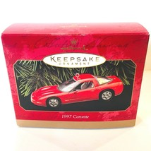 Hallmark Keepsake Holiday Ornament 1997 Corvette Torched Red Convertible... - $9.99