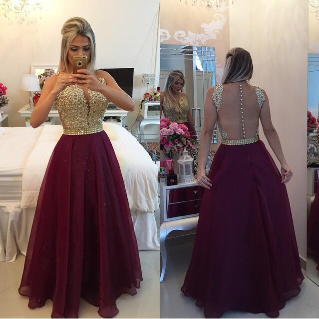 Charming Prom Dresses,Burgundy Prom Dress,Dresses For Prom,A-line Prom Dresses