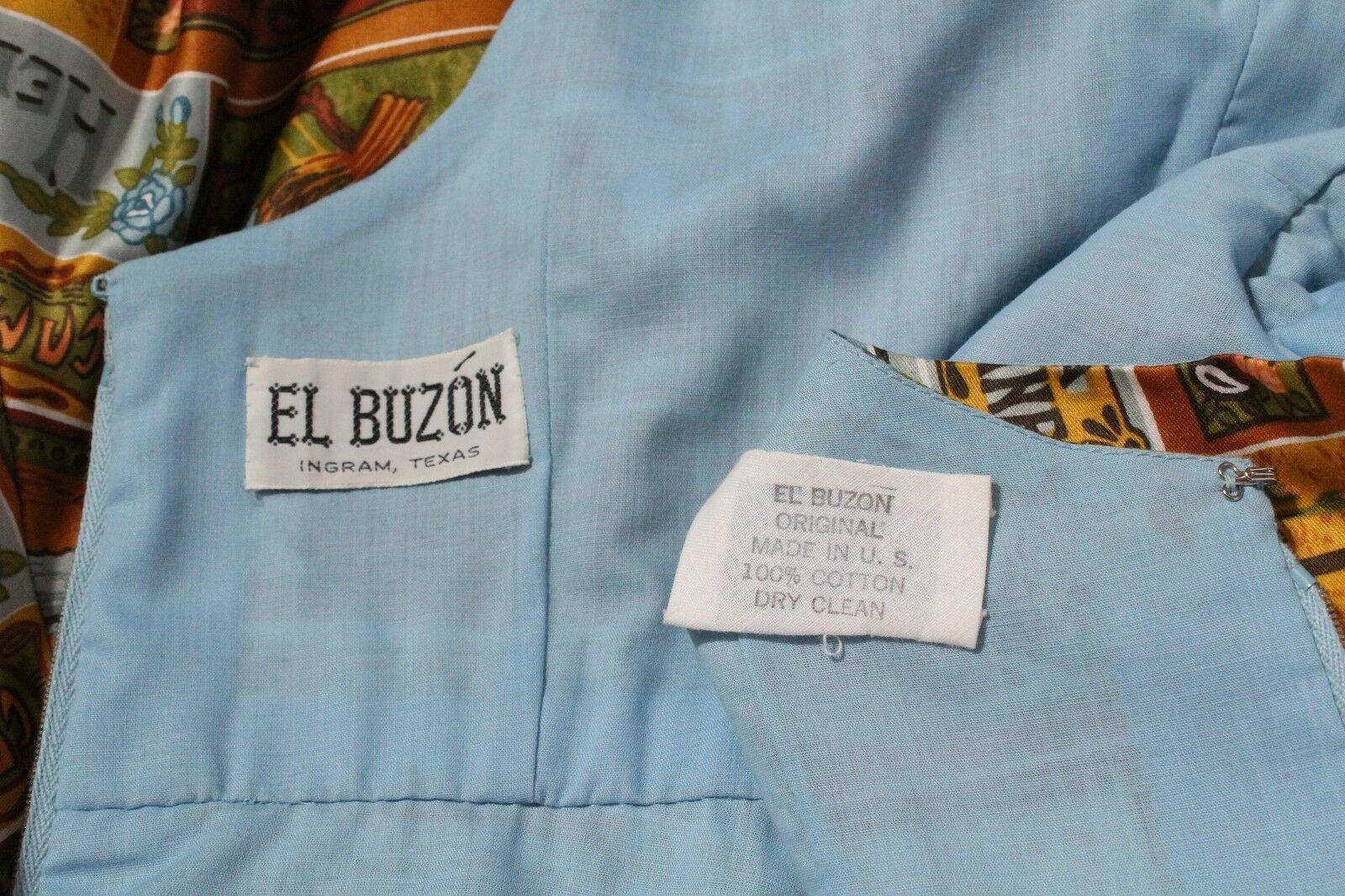 Vintage el Buzon 18.3ms Pájaro Estampado Floral Poeta Romántico Renacimiento