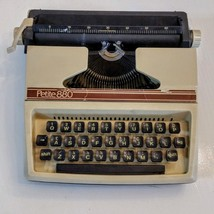 Petite 880 Childrens Typewriter Vintage Plastic Made in England Byron Ja... - $15.82