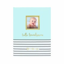 Pearhead Hello Handsome First 5 Years Baby Memory Book with Photo Insert... - $20.00