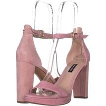 Nine West Dempsey Ankle Strap Dress Sandals 087, Light Pink, 10 US - $25.91
