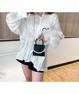 Oeak Pearl Handle Super mini Design Shoulder Bags For Women Crossbody Bag - £9.87 GBP