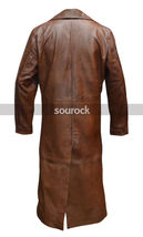Batman V Superman Coat Dawn of Justice Nightmare Brown Leather Trench Coat image 2