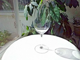 "Williams Sonoma Grand Cru Wine Glass 8 3/8"" - Signed / Retired - $14.85"