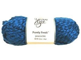 Yarn Bee Purely Fresh Yarn in Peacockle #1980234