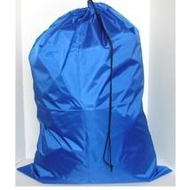"""Royal Blue 30"""" by 40"""" X-TRA Jumbo Laundry Bag Heavy Duty Drawstring Nylon - $7.99"""