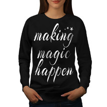 Making Happen Jumper Slogan Women Sweatshirt - $18.99