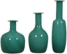 Uttermost Baram Turquoise Vases, Set 3 - $248.60
