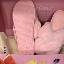 NEW in Dust Bag Glow Recipe Fuzzy GLOW GANG Slippers One Size Fits most SOLD OUT image 3
