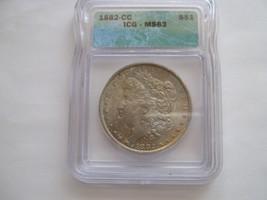 1882-CC , Morgan Dollar , MS 63 , ICG Certified - $300.00