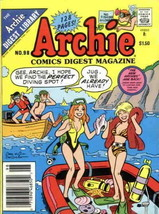 Archie Digest Magazine #98 VF; Archie | save on shipping - details inside - $14.99
