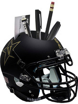 Vanderbilt Commodores (Black with Anchor) NCAA Football Schutt Mini Helmet Desk  - $21.95