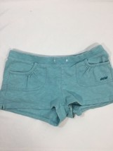 Aeropostale Women Sleeping Wear Shorts Turquoise  Above Knee Regular Fit... - $14.95
