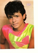Robby Rosa teen magazine pinup clipping muscles 1980's Menudo - $3.50