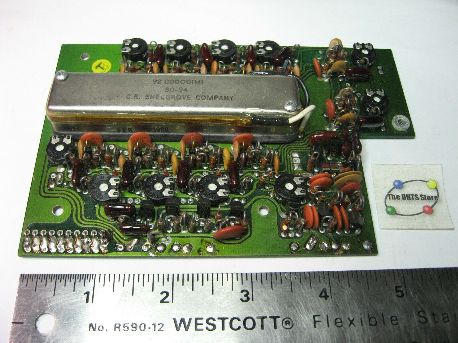 Primary image for 189M PCB Board Crystal Oven Snelgrove SO-94 92-C0000IMI Used Pull Untested Qty 1