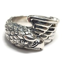 King Baby Studio .925 Sterling Silver Eagle Ring Size 9.75 - £218.09 GBP