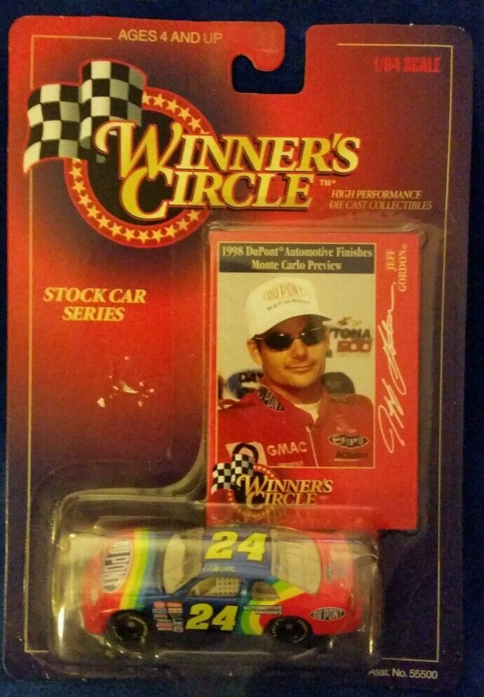 1:64 Winners Circle Jeff Gordon - 1998 Stock Car Series - $4.70