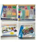 Snap Circuits SC300 + SC-125 Electronics Kit Lot of 2 Kits - $28.04
