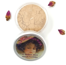 #7 MEDIUM WARM Foundation Sheer Bare Cover Mineral Matte Makeup Sheer Minerals - $14.95