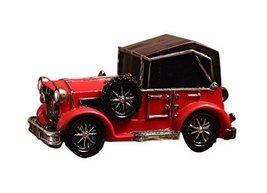 Nostalgic Retro Beetle Car Home Decorations Handmade Classic Car Decorations Red - $25.41