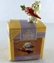 "Hallmark Keepsake 1990  ""24k Daughter"" Handcrafted Easter Bunny Ornament  - $13.24"
