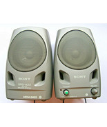 Sony SRS-A33 Portable Mega Bass Active Speaker System for CD MP3 Compute... - $24.74