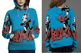 Felix The cat Hoodie Fullprint Women - $41.99+