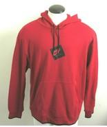 Nike Mens Jordan Jumpman Fleece Classic Hoodie Sweatshirt Red Black Size... - $58.79