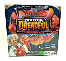 Dr. Doctor Dreadful Scabs N Guts Board Game Educational Gross Science Fa... - $19.99