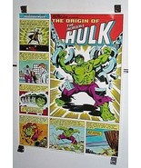Vintage 1980 Incredible Hulk Coke Coca Cola Marvel Comics poster 1: Marv... - $129.99