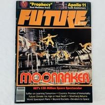Future Life #12 August 1979 James Bond Moonraker Apollo 11 Robert Silver... - $9.50