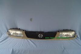 93-94 Nissan Tsuru Sunny Sentra B13 Headlights Head Light Lamps Set L&R w/ Grill image 11