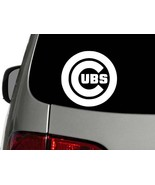 Chicago Cubs Baseball Vinyl Decal Car Sticker Wall Truck CHOOSE SIZE COLOR - $1.90+
