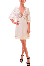 For Love & Lemons Women's Unique Carmine Mini Dress White Size M RRP $28... - $142.29