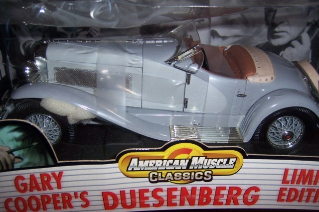 Gary Cooper Duesenberg Limited Edition Ertl Collectible Car American Muscle NEW image 3