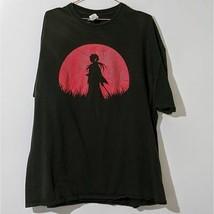 Ruoroni Kenshin Red Moon Samurai T-shirt 2XL - £16.55 GBP