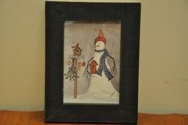 L Spivey Snowman Picture - $5.89