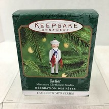 2000 Clothespin Soldier #6 Mini Hallmark Christmas Tree Ornament MIB Pri... - $12.38