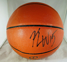 KEMBA WALKER / BOSTON CELTICS / AUTOGRAPHED FULL SIZE NBA BASKETBALL / COA image 1