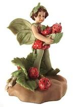 Strawberry Fairy Figurine Flower Fairies Ornament - $171.50