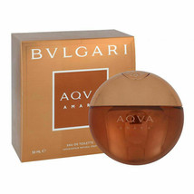 Bvlgari Aqva Amara Eau De Toilette Spray 1.7oz/50ml EDT For Men New Box Sealed - $93.33