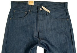 NEW NWT LEVI'S 501 MEN'S ORIGINAL FIT STRAIGHT LEG JEANS BUTTON FLY 501-1284 image 2